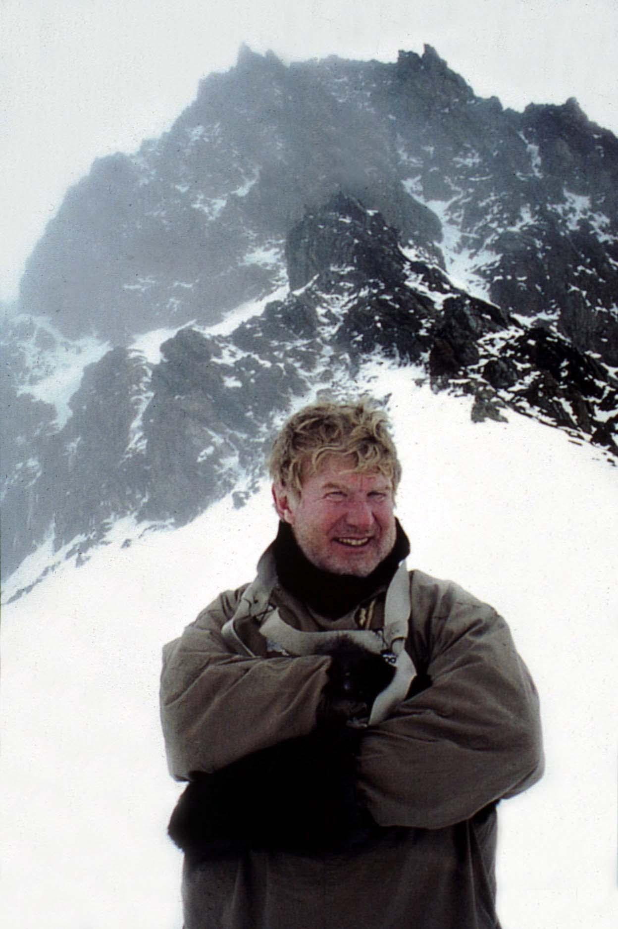 Jock Bio ShackletonTrident Ridge Pic
